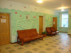 Холл лечебного корпуса